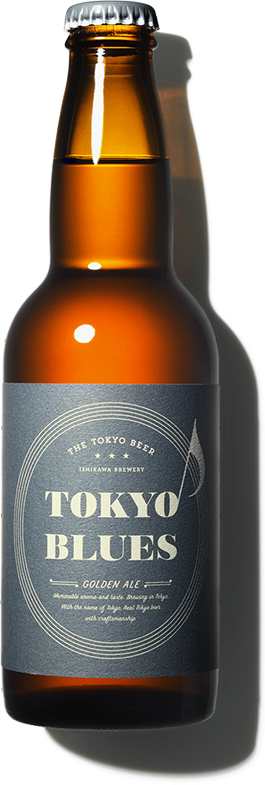 TOKYO BLUES - GOLDEN ALE - by ISHIKAWA BREWERY