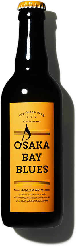 OSAKA BAY BLUES - BELGIAN WHITE - by KONISHI BREWERY